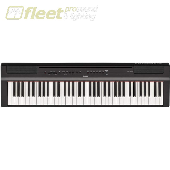 Yamaha P121-B 73-Note Weighted Digital Piano - Black DIGITAL PIANOS