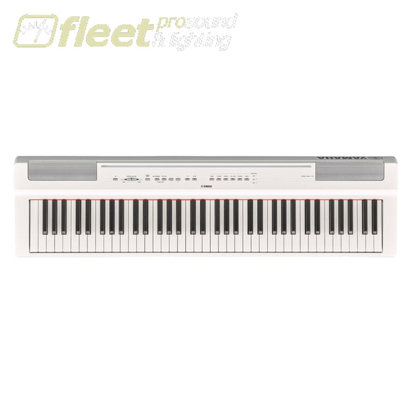 Yamaha P121-WH 73-Note Weighted Digital Piano - White DIGITAL PIANOS