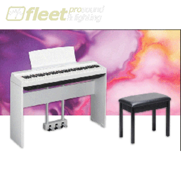 Yamaha P121PKG-WH 73-Note Weighted Digital Piano Package - White DIGITAL PIANOS