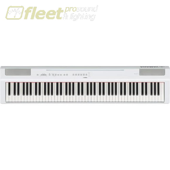 Yamaha P125 Wh Compact 88-Key Digital Piano - White Digital Pianos