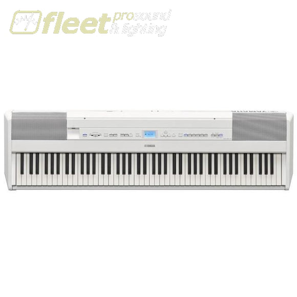 Yamaha P515 Wh 88-Key Digital Piano W/speakers - White Digital Pianos