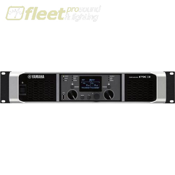 Yamaha Px3 Power Amplifier - 300W At 8 Ohms Amplifiers-Professional