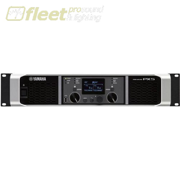 Yamaha Px5 Stereo Power Amplifier 500W At 8 Ohms Amplifiers-Professional