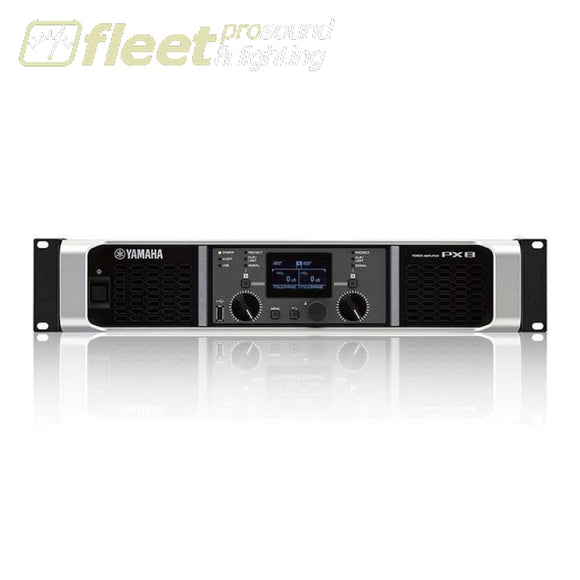 Yamaha Px8 Dual Channel Stereo Power Amplifier Amplifiers-Professional