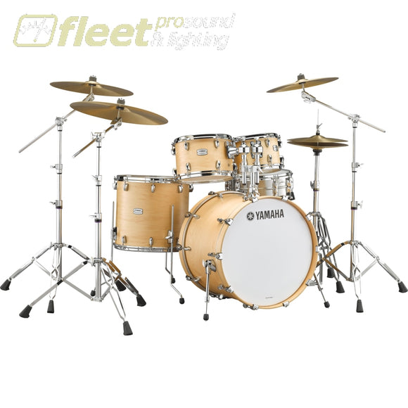 Yamaha Tmp247Rlsbts Tour Custom Shell Pack & Hardware - Butterscotch Satin Acoustic Drum Kits