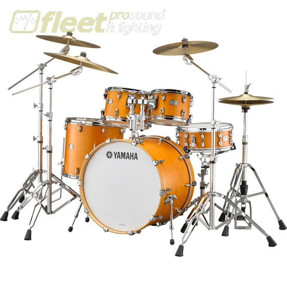 Yamaha Tmp247Rlscrs Tour Custom Shell Pack & Hardware - Caramel Satin Acoustic Drum Kits