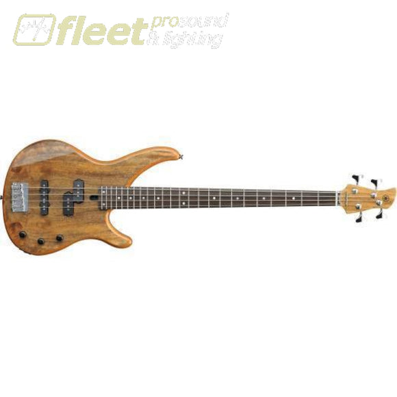 Yamaha TRBX174EW Exotic Wood 4-String Bass - Natural Finish 4 STRING BASSES