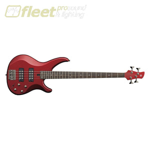 Yamaha Trbx304 Car 4-String Electric Bass Candy Apple Red 4 String Basses