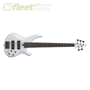 Yamaha TRBX305-WH 5-String Electric Bass Black White 5 STRING BASSES