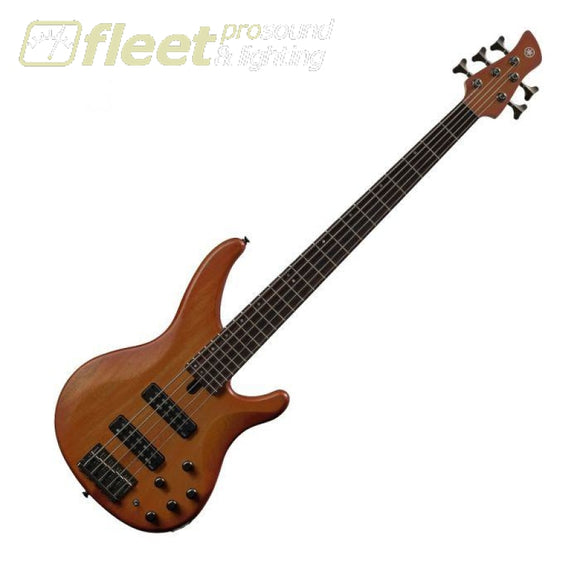 YAMAHA TRBX505-BRB 5-STRING ELECTRIC BASS GUITAR - BRICK BURST 5 STRING BASSES