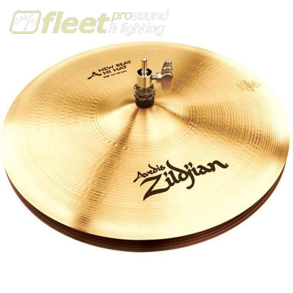 Zildjian A0133 A Series 14 New Beat Hi-Hat Pair Hi-Hat Cymbals