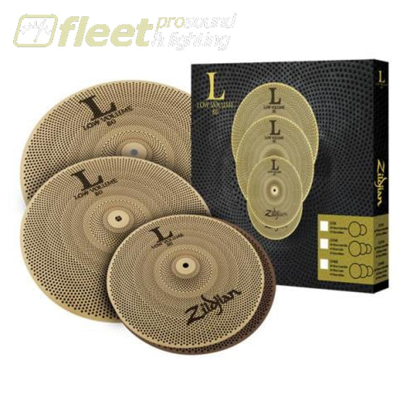 Zildjian LV348 L80 Low Volume Box Set 13'PR/14'/18' CYMBAL KITS