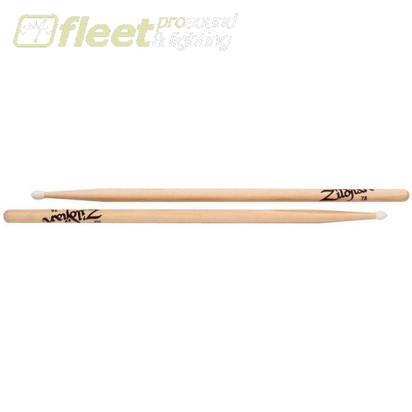 Zildjian 7Ann 7A Nylon Tip Drum Sticks Sticks