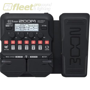 Zoom G1XFOUR Multi-Effects Processor GUITAR MULTI FX