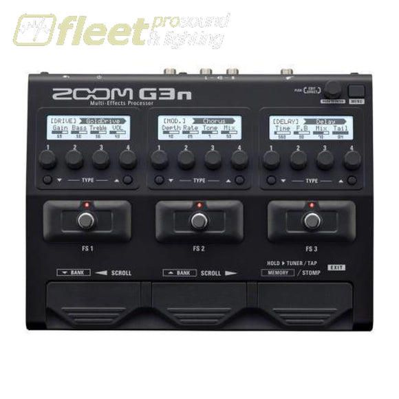 Zoom G3N Multi-Effects Processor Pedal GUITAR MULTI FX