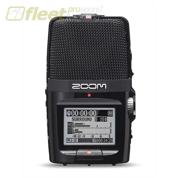 Zoom H2n Personal Stereo Digital Recorder PORTABLE RECORDERS
