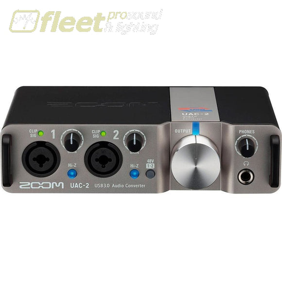 Zoom Uac-2 Usb 3.0 Audio Interface Audio Interfaces