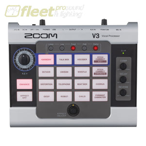 Zoom V3 Vocal Processor EFFECTS PROCESSORS