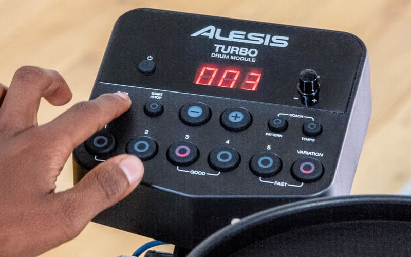 Alesis TURBOMESHKIT Seven-Piece Electronic Drum Kit with Mesh Heads