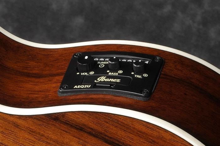 Ibanez AEQ-2U preamp w/Onboard tuner