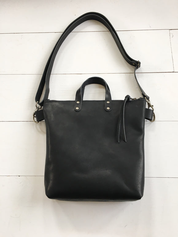 Black Crossbody Bag with handles