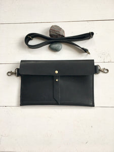 Classic black hip bag