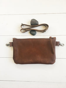 Super Simple Hip Bag in Brown
