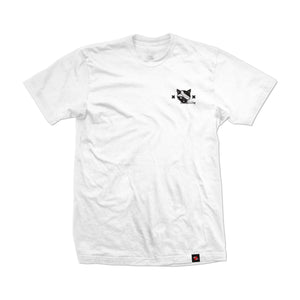 BAD LUCK NEKO TEE (WHITE)