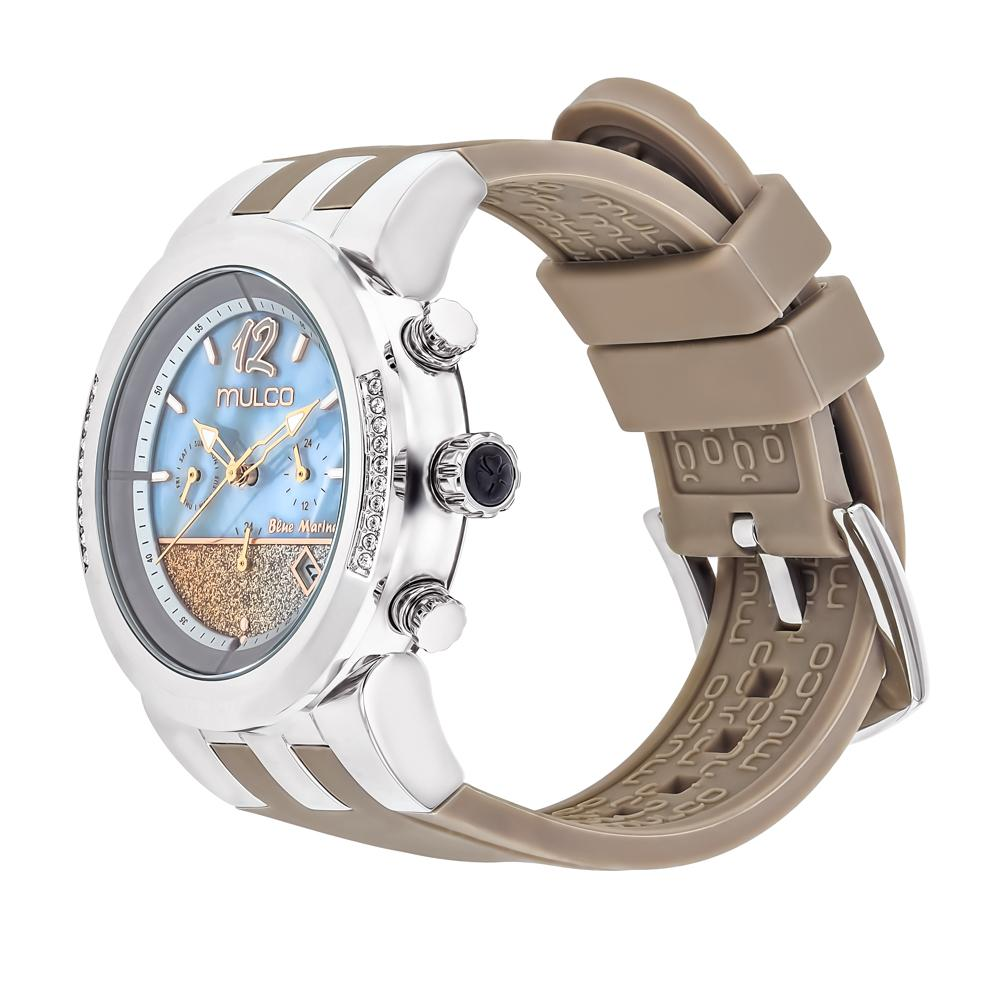 Ladies Watches | Mulco Blue Marine Infinity | Stainless Steel | TaupeReverse