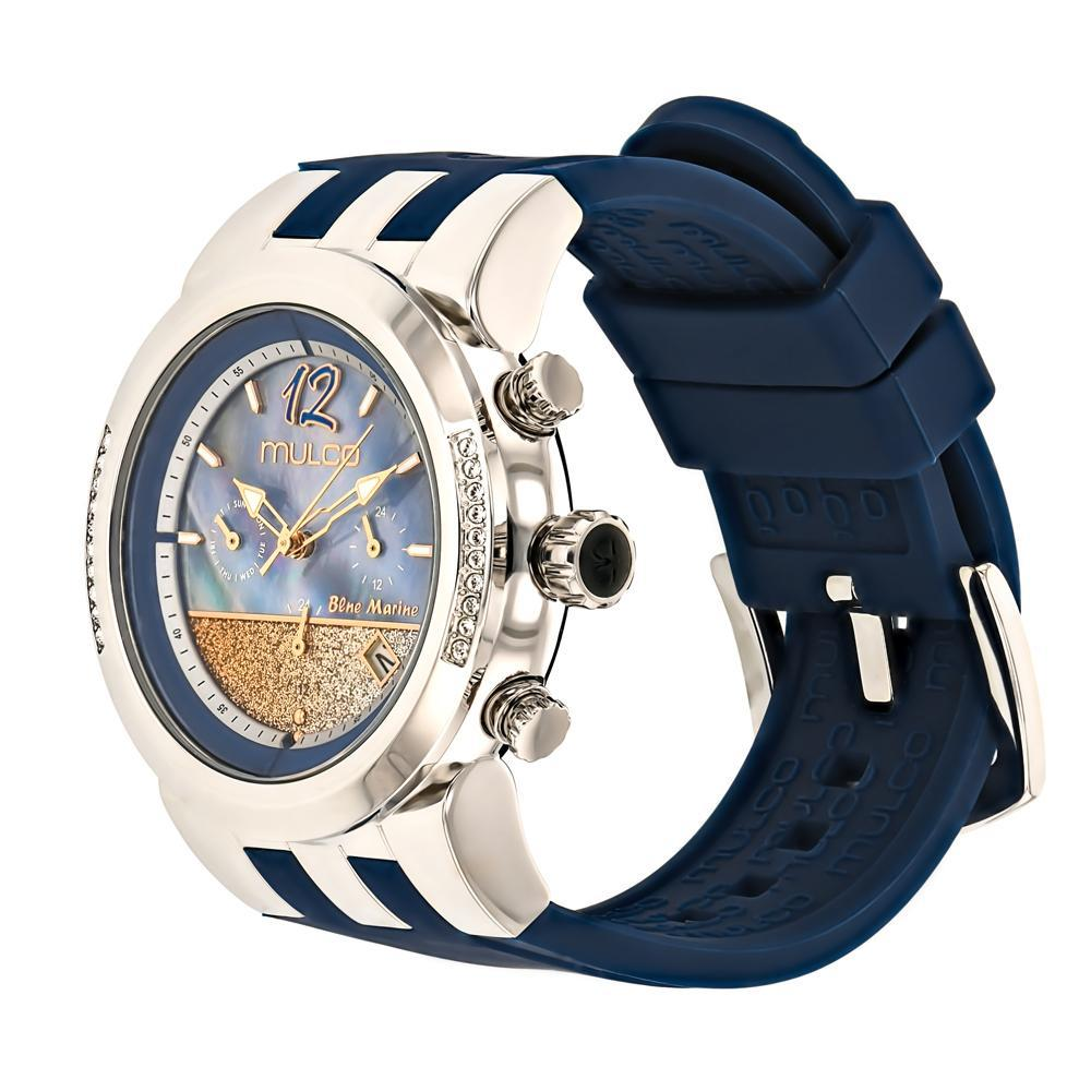Ladies Watches | Mulco Blue Marine Infinity | Stainless Steel | BlueReverse