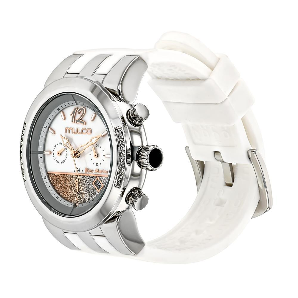 Ladies Watches | Mulco Blue Marine Infinity | Stainless Steel | WhiteReverse