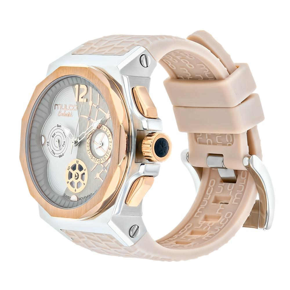 Ladies Watches | Mulco Enchanted Shell | Swarovski | BeigeReverse