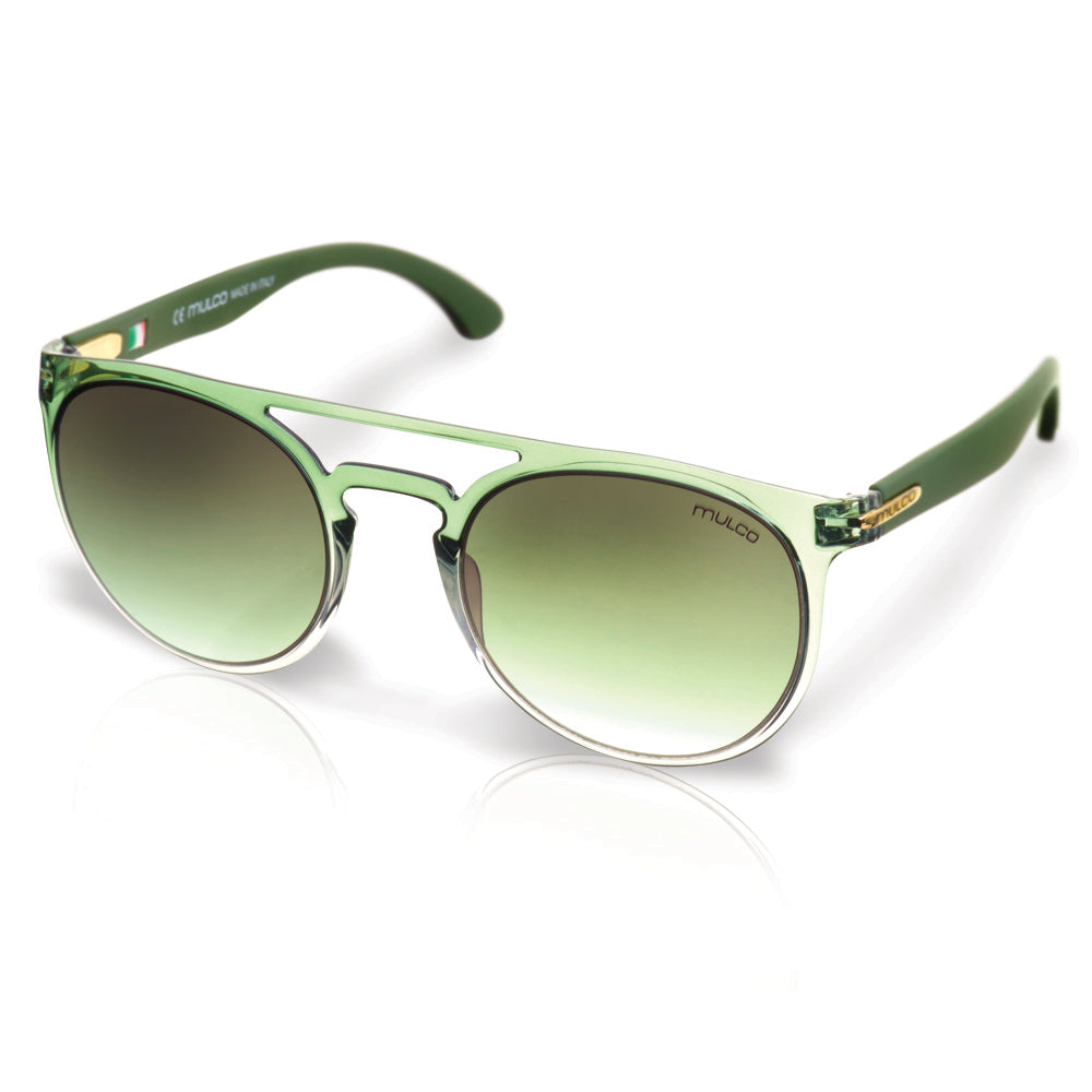 Mulco Sunglasses | Flow RD | Green Mat Grilamid