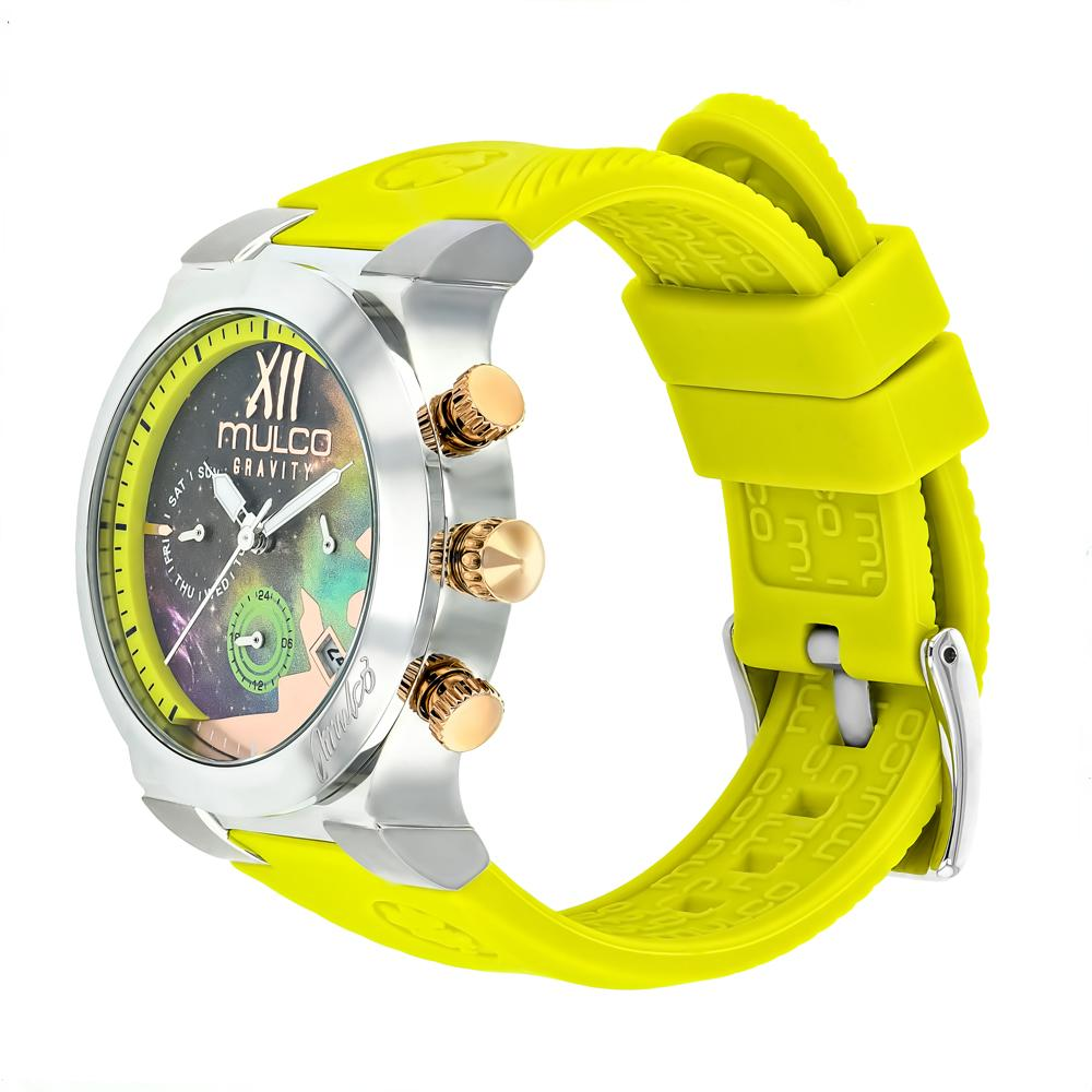 Ladies Watches | Mulco Gravity Galaxy | Premium multicolor design | NeonGreenReverse