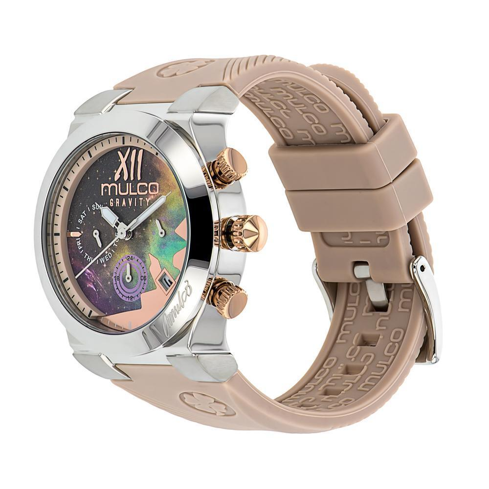 Ladies Watches | Mulco Gravity Galaxy | Premium multicolor design | BeigeReverse