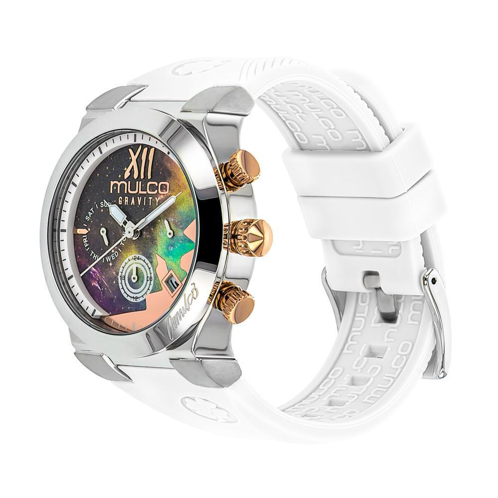 Ladies Watches | Mulco Gravity Galaxy | Premium multicolor design | WhiteReverse