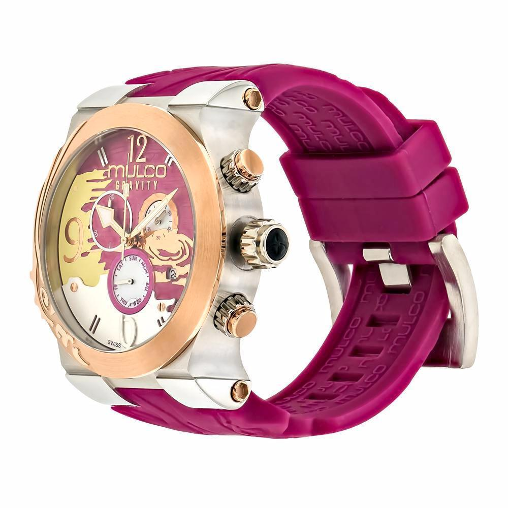 Ladies Watches | Mulco Gravity Jupiter | Mixed textures | PlumPurpleReverse
