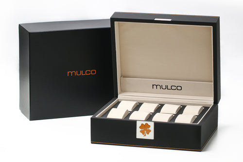 Mulco Brand New Watch Display Box Collector Luxury Organizer-Accessories-Mulco-Watches