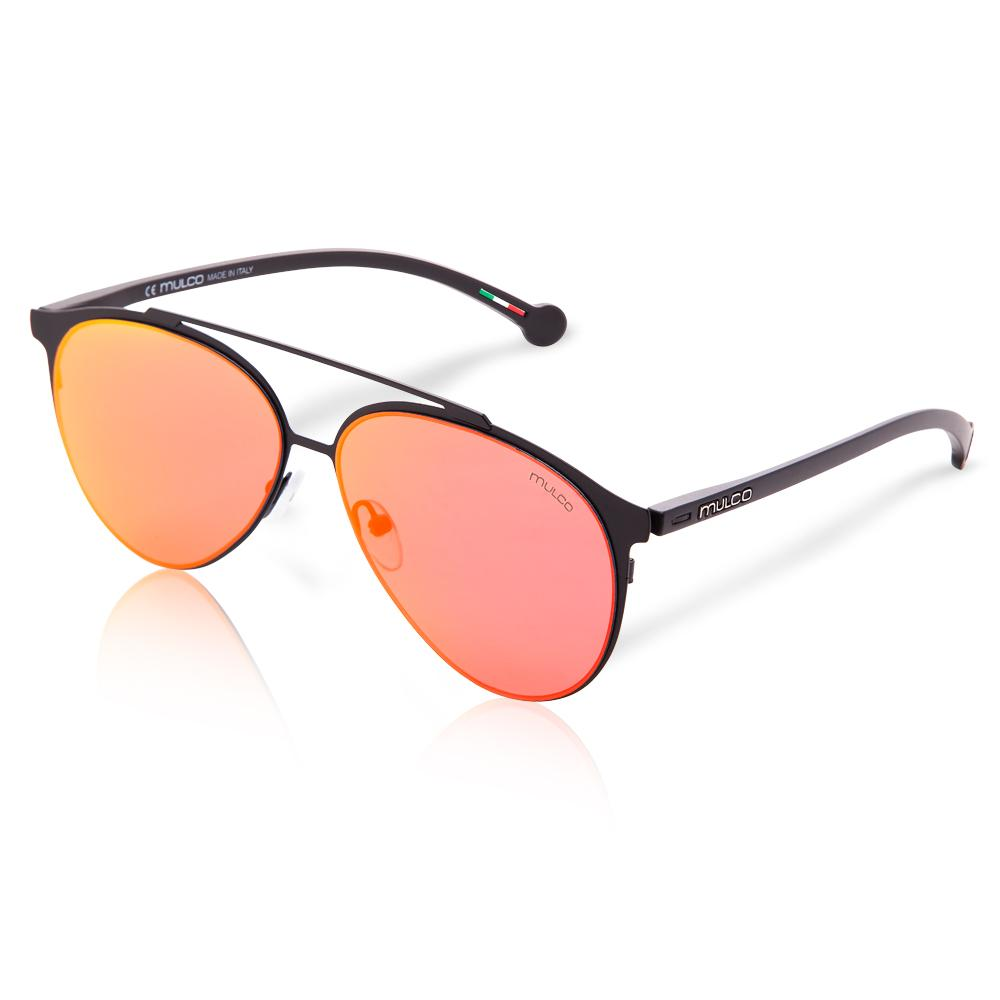 Mulco Sunglasses | Leaf PT | Red Rubber Finishing