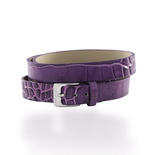 Leather Wrap Bracelet A - Purple