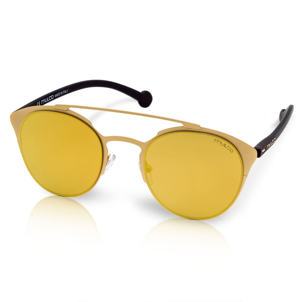Mulco Sunglasses | Leaf Cat | Black Rubber Kinishing