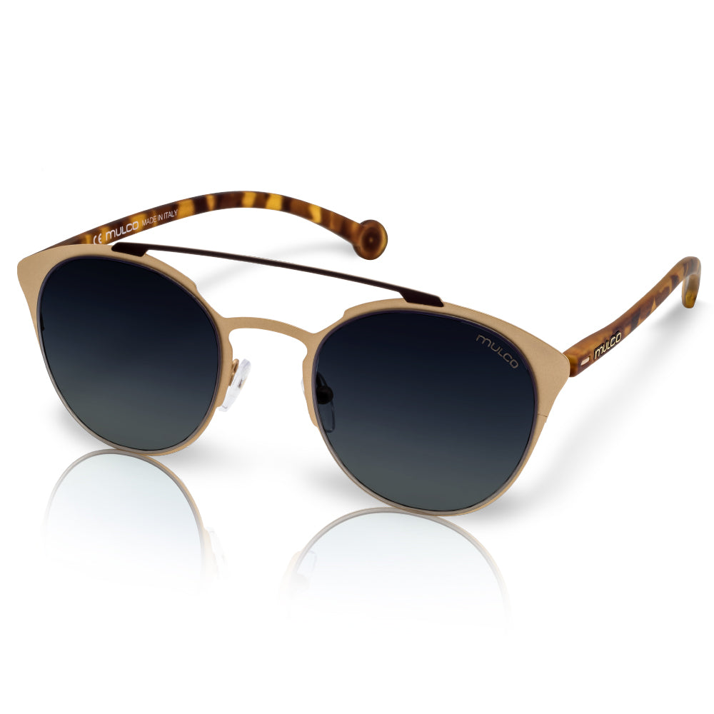Mulco Sunglasses | Leaf Cat | Tortoiseshell Rubber Kinishing