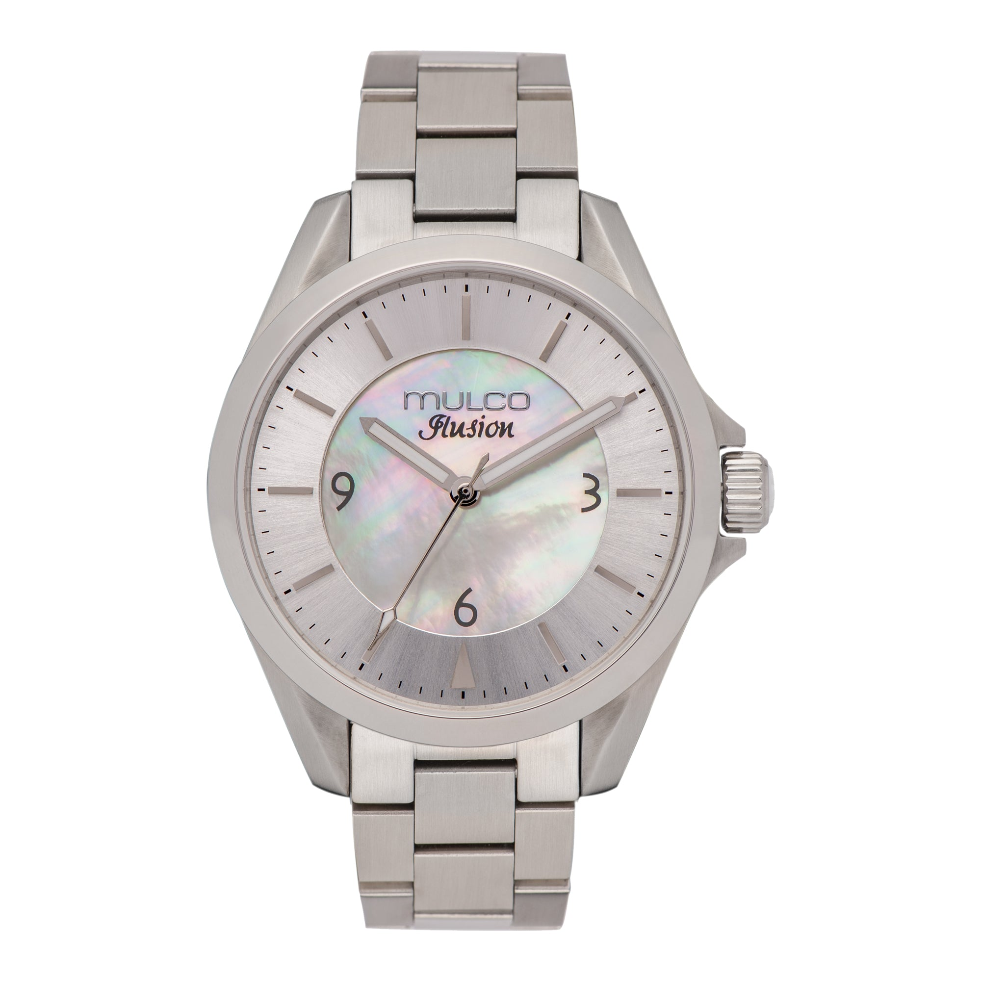 Womens Watches | Mother of Pearl | Silver Accent | Water Resistant