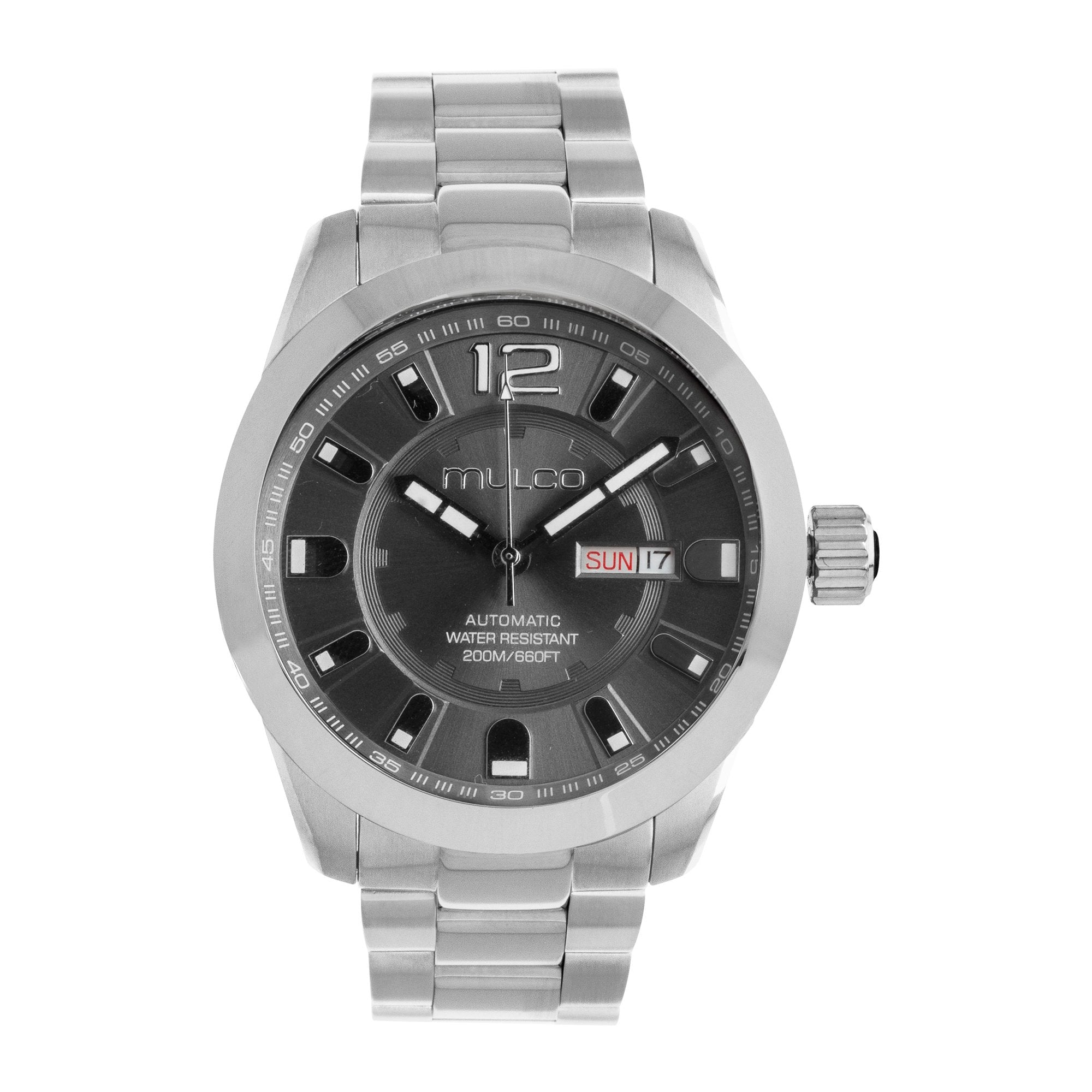 Men Watches | Stainless Steel | Silver accents | Water Resistant