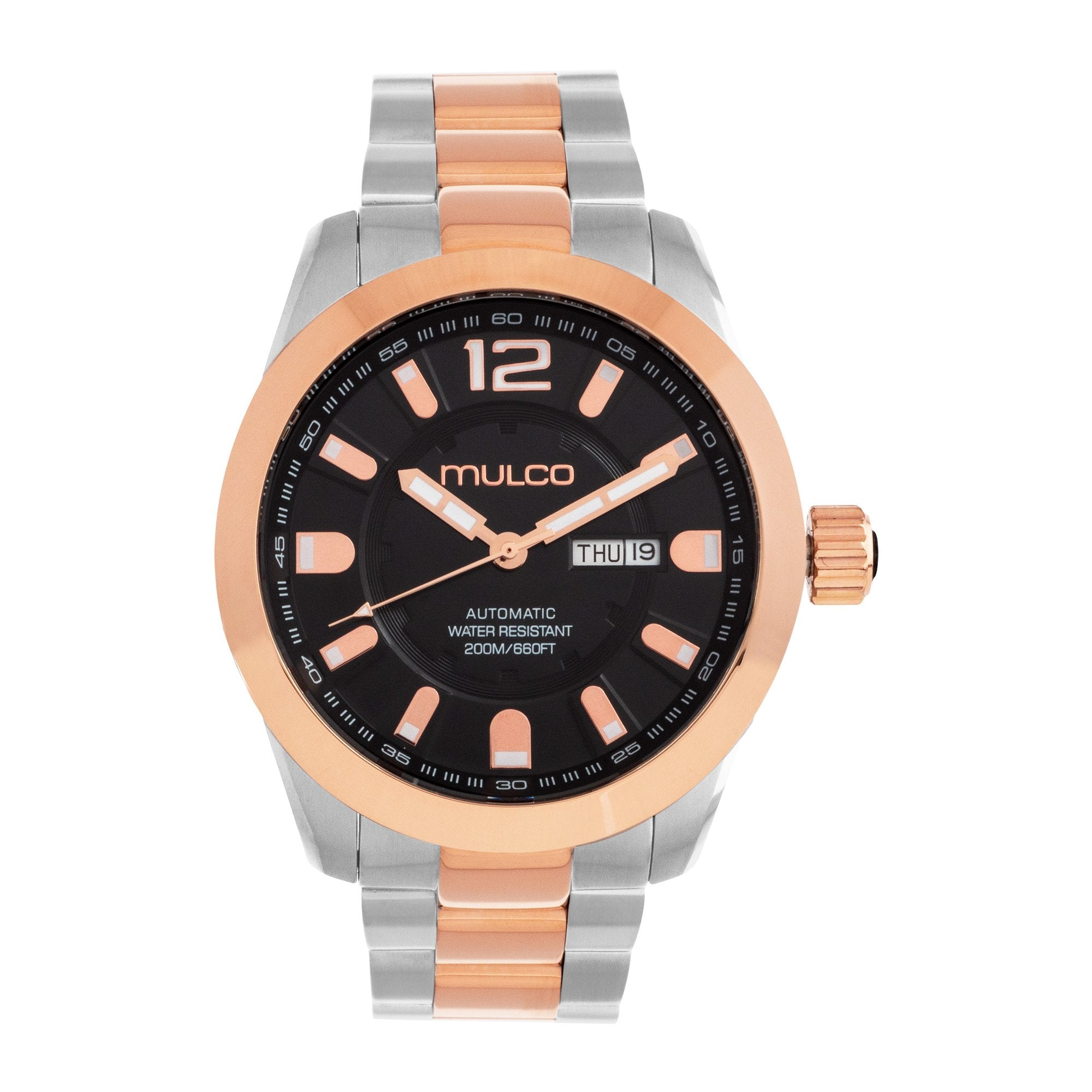 Men Watches | Stainless Steel | Rose Gold accents | Water Resistant