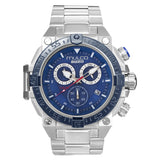 Men Watches | Silver Stainless Steel Band | Silver accents | Water Resistant