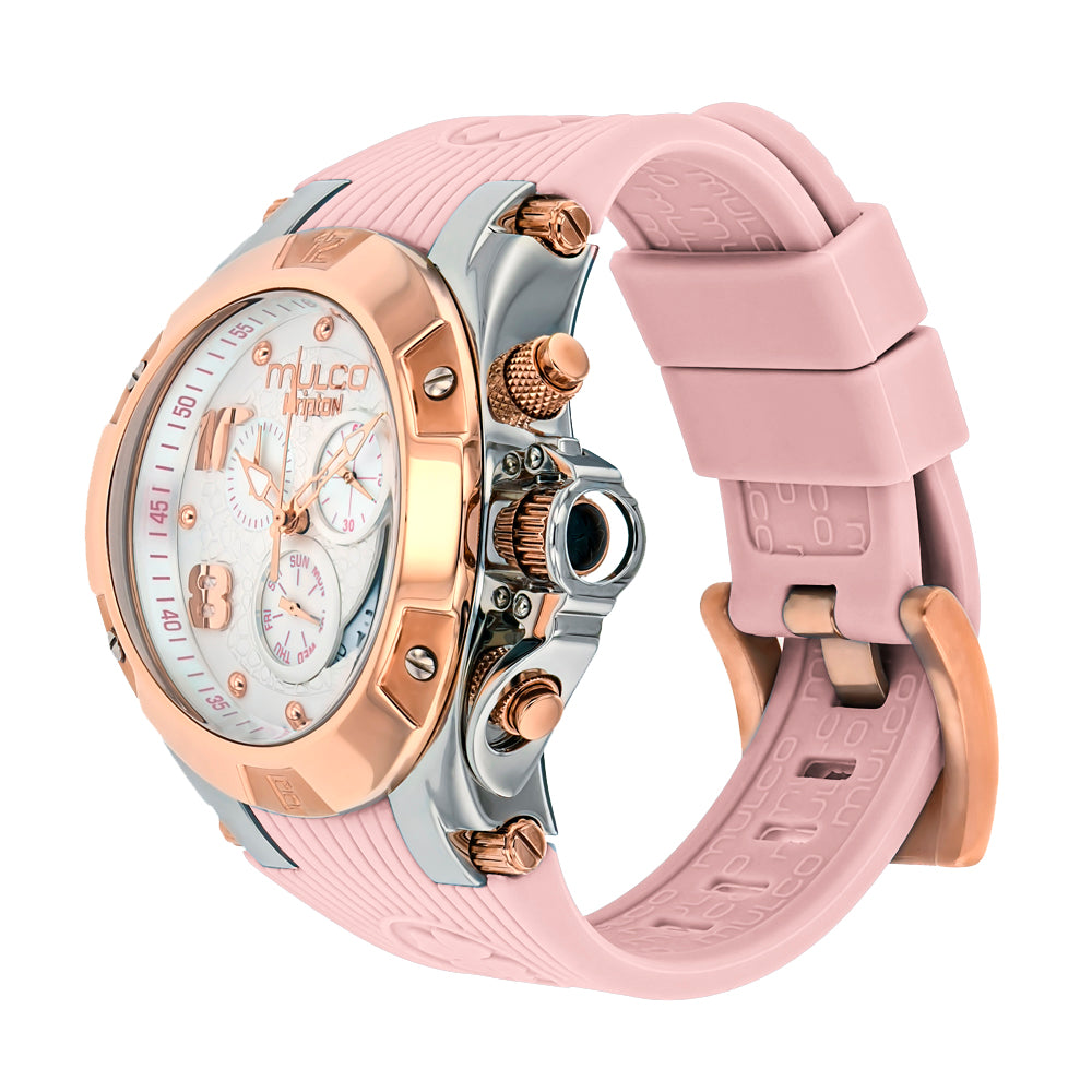 Women Watches | Mulco Kripton City | Special Pattern Texture | PinkReverse