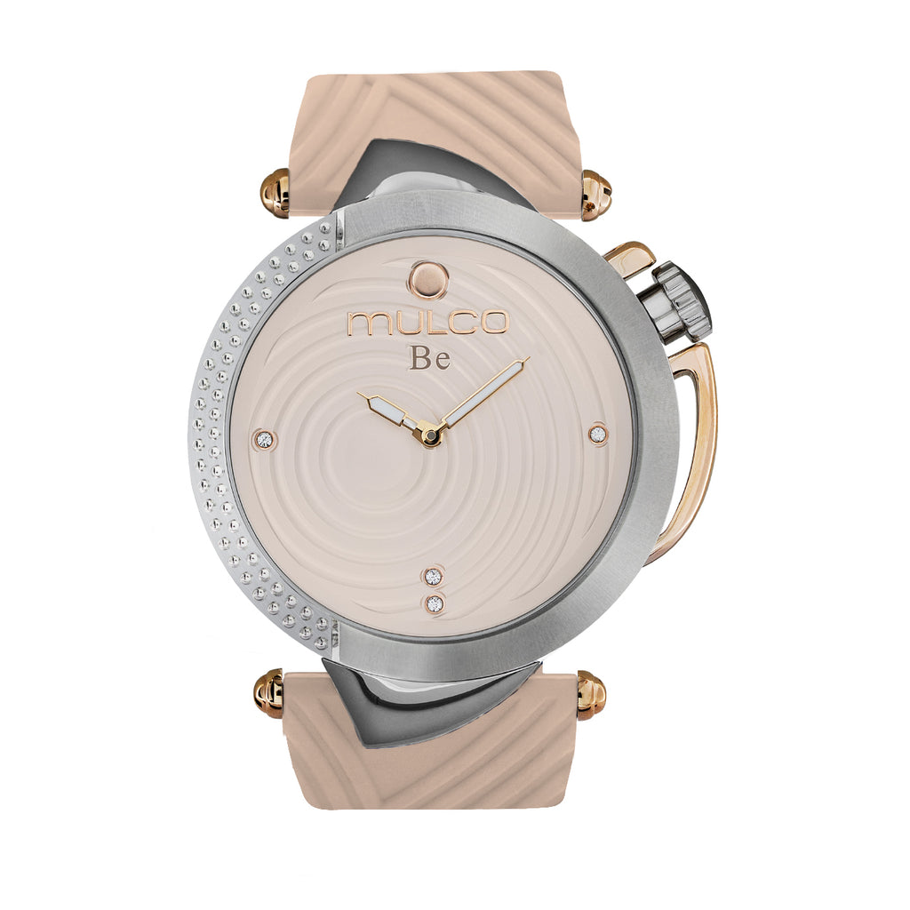 Ladies Watches | Pink Silicone Band | Rose Gold accents | Water Resistant