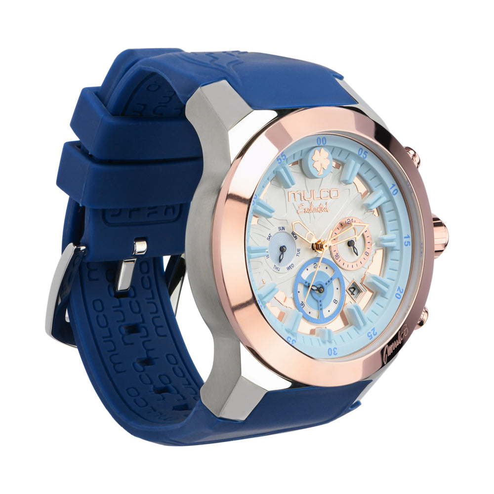 Mulco Watches Women | Enchanted Maple | Embossed Pattern