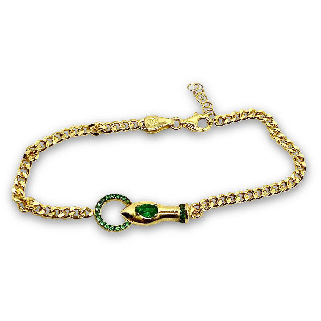 Mulco Jewelry | Bite Bracelete | Esmerald - Green